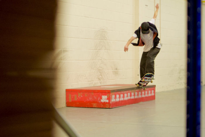 Charlie Munro - Half Cab to Front Crook