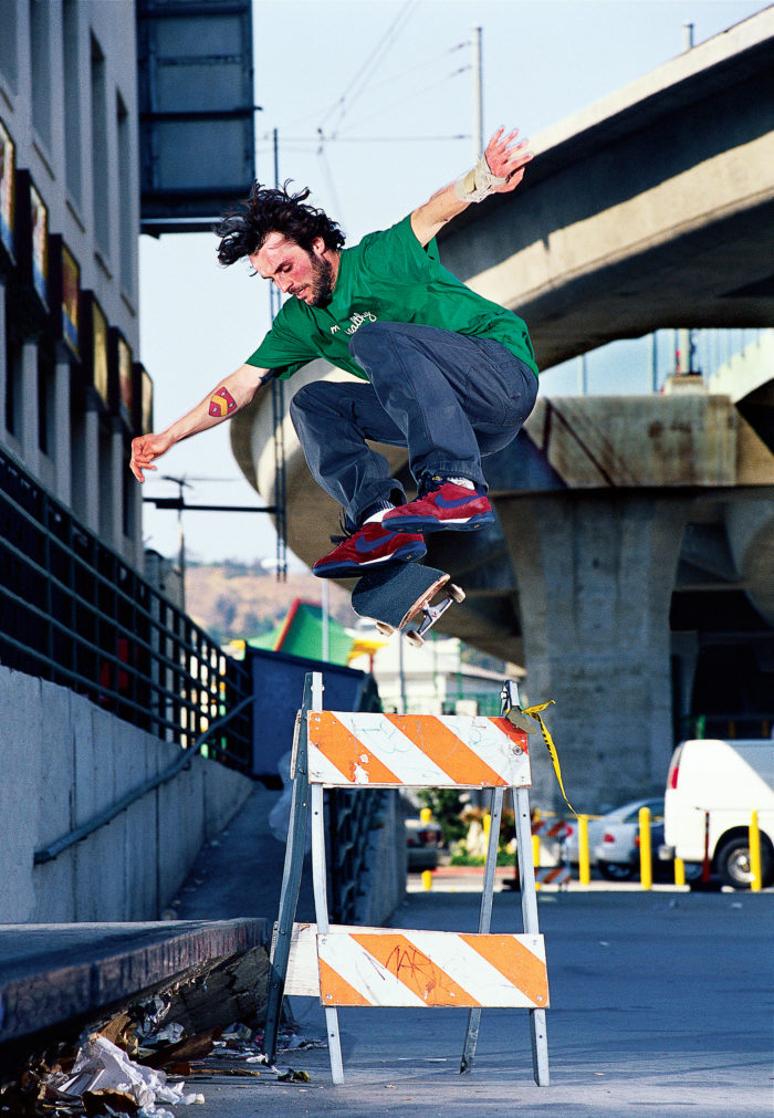 Gino Iannucci by Ben Colen, switch kickflip, Los Angeles, 2004