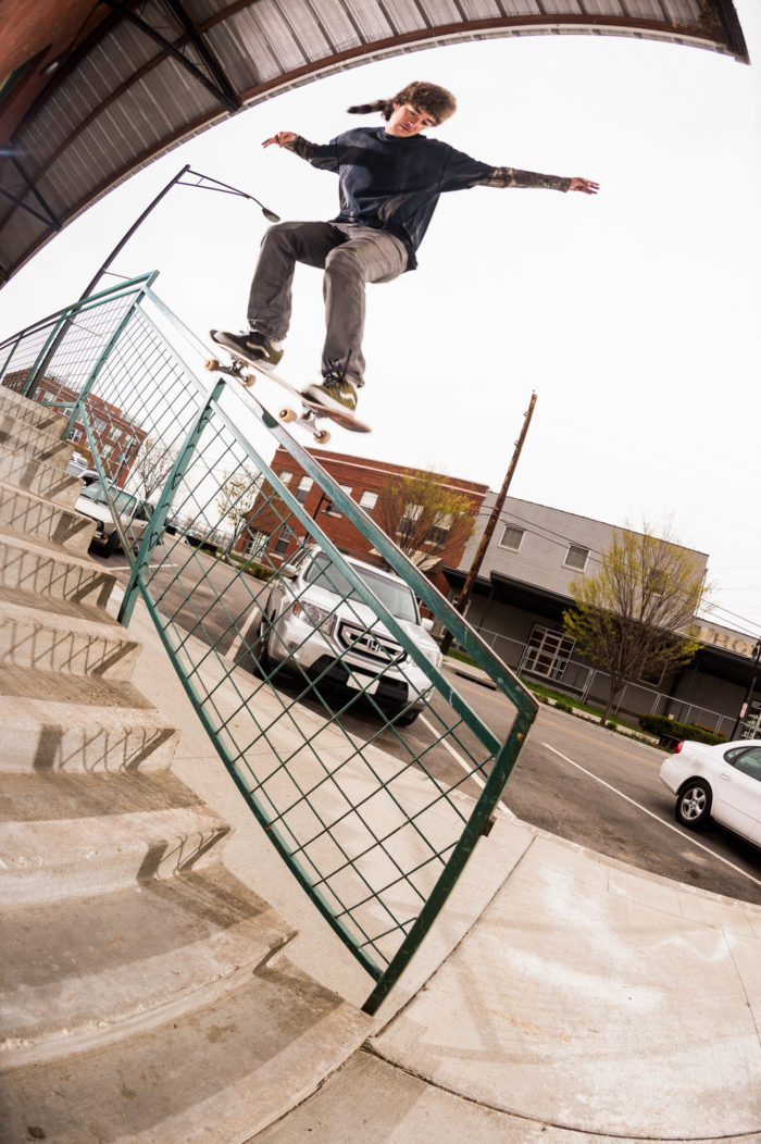 Rowan Zorilla, backside 5050, photo: Michael Burnett
