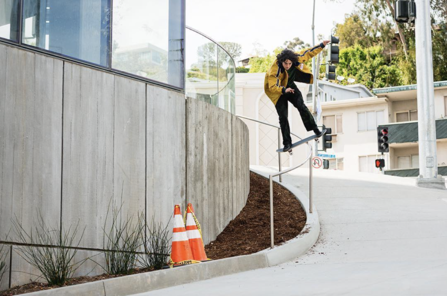 Rowan Zorilla, boardslide. photo: Ben Colen