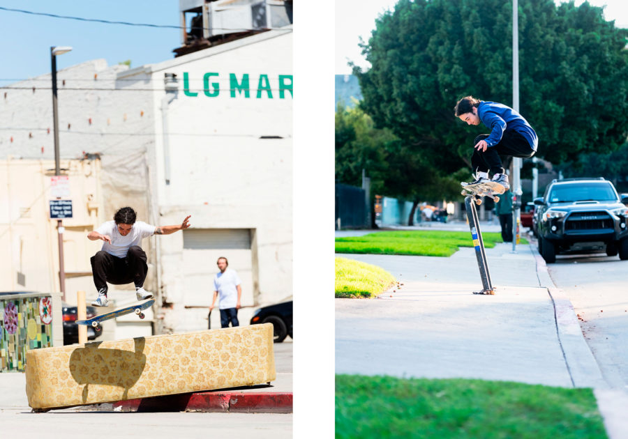 Rowan Zorilla, frontside flip and switch 5-0. photos: Ben Colen