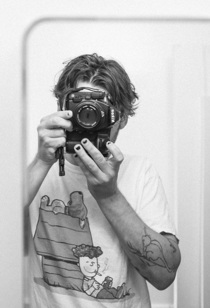 Andrew James Peters Interview - Slam City Skates - Self Portrait 3