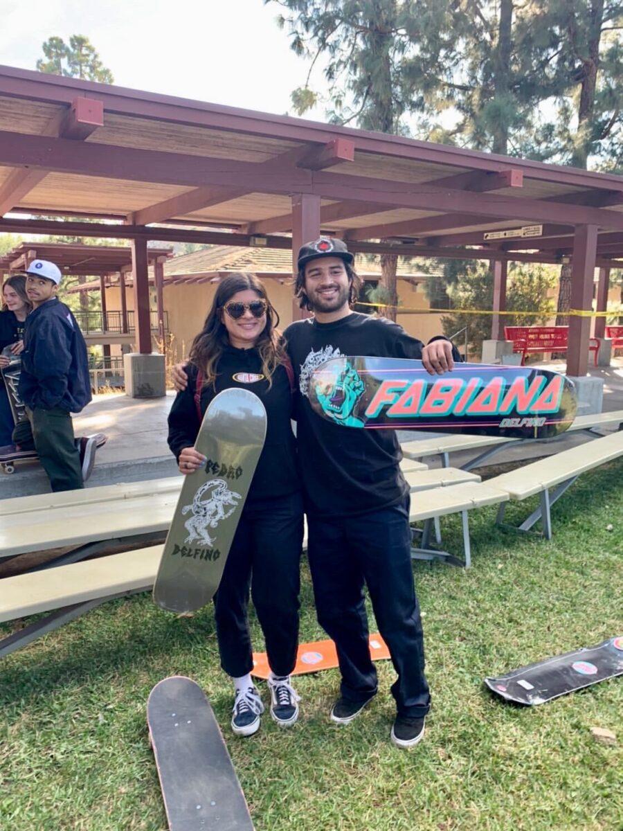 Fabiana and Pedro Delfino, Bust or Bail 2019 | photo: Vans