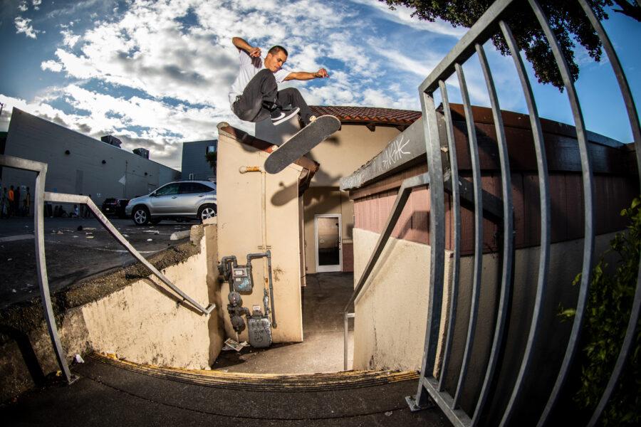 Mason Silva | 360 flip, photo: Gabe Morford | Slam City Skates