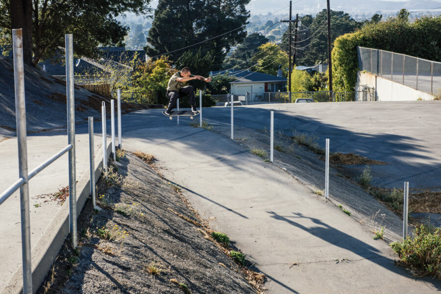 Mason Silva | Ollie, Oakland | photo: Bram De Martelaere | Slam City Skates