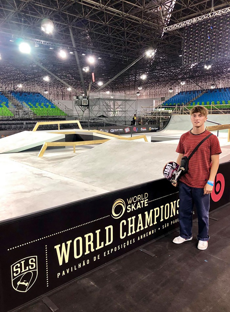 Alex Decunha, SLS World Championships. São Paulo, Brazil