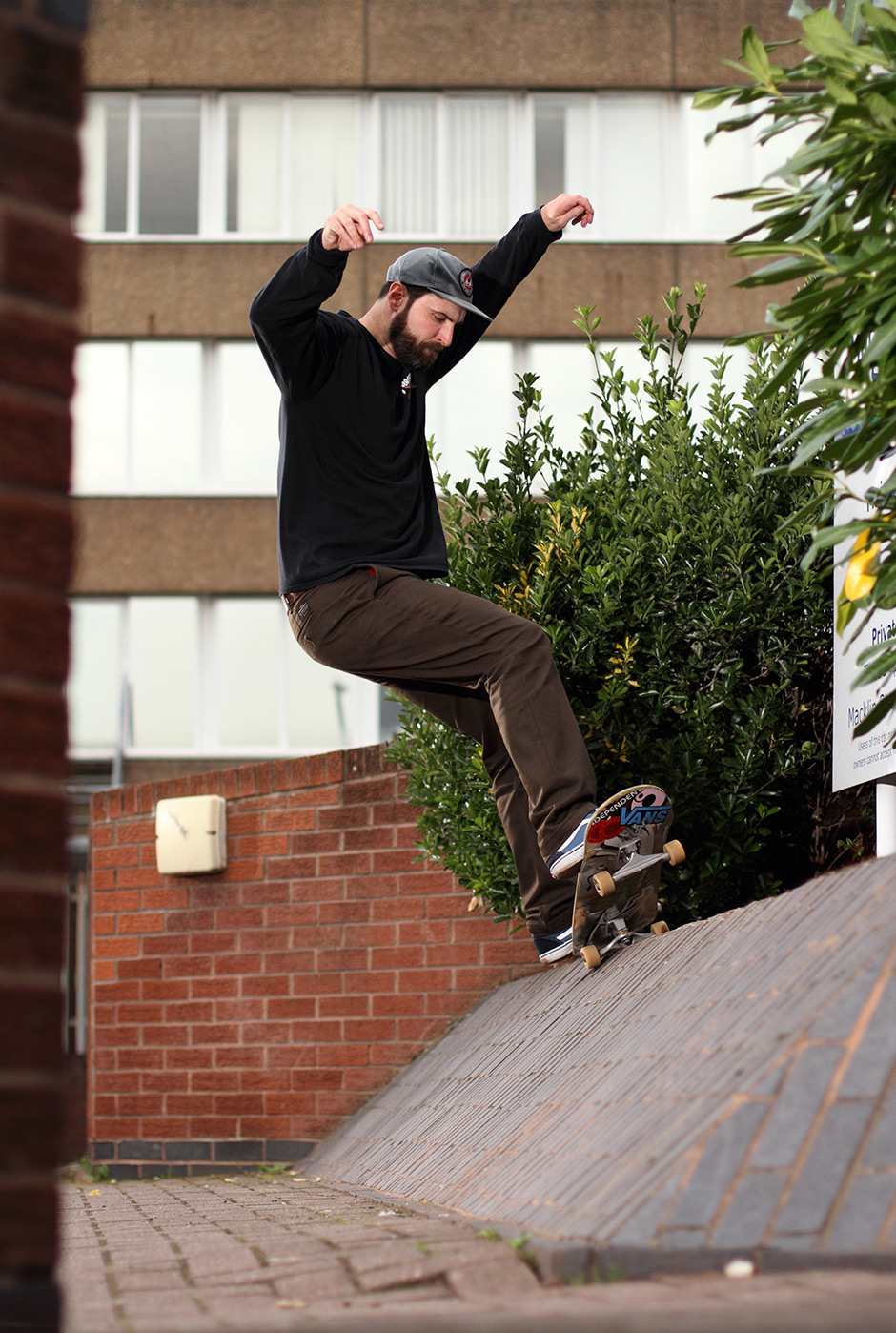 Darren Pearcy, Frontside 5-0, Derby. Photo: Tom Quigley