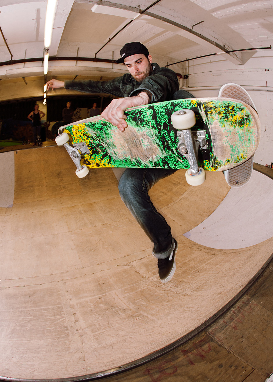 Darren Pearcy, Boneless, The Boardroom, Leicester. Photo: Chris Johnson