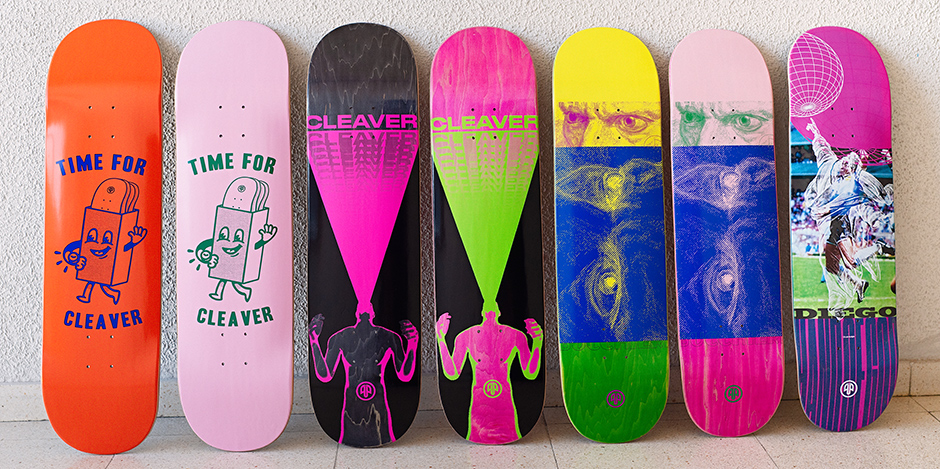 Check Out The Latest Cleaver boards to arrive