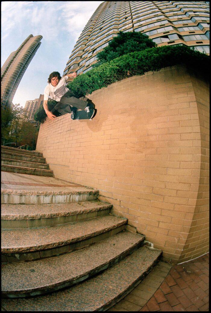 Jake Johnson, backside wallride, New York, 2008 | photo: Jonathan Mehring