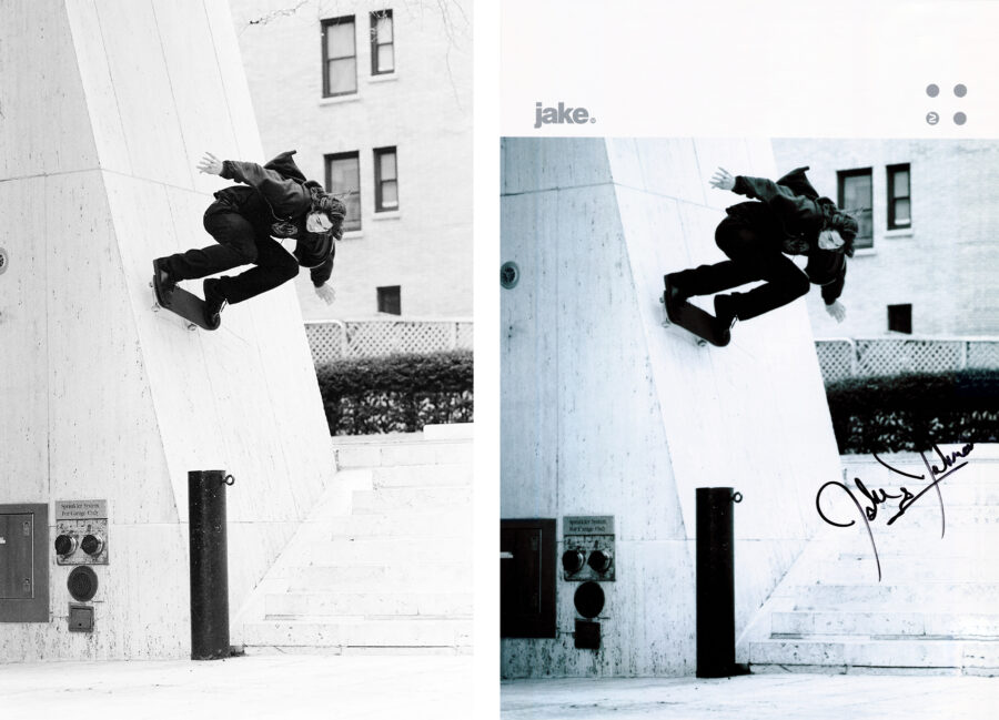 Lightbox: Jake Johnson by Jonathan Mehring | switch wallride, New York, 2008 | Original and ad