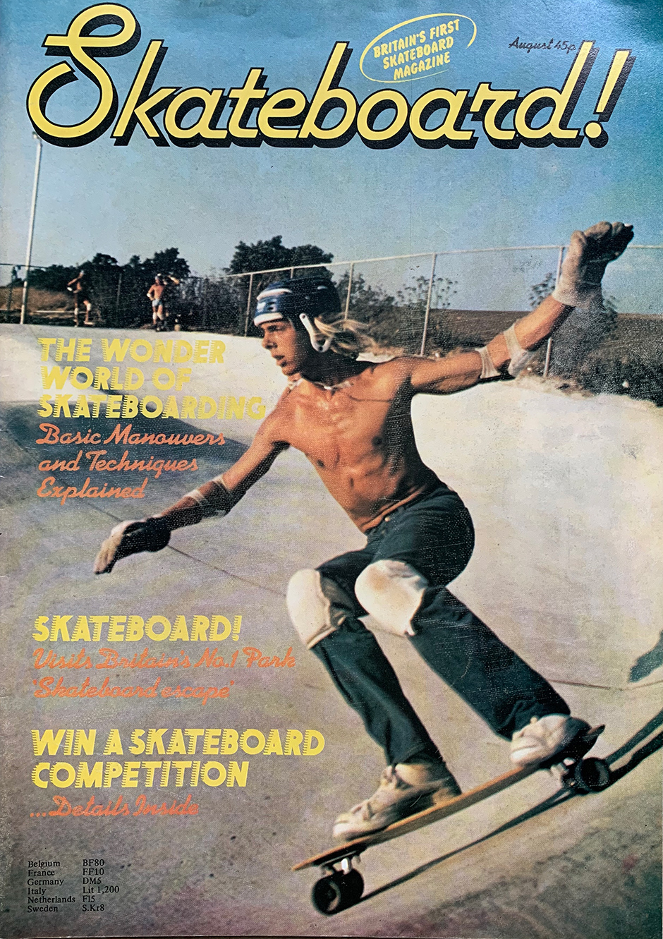 Issue one of Skateboard! magazine launched in 1977