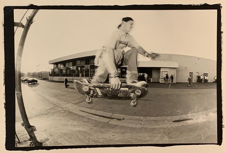 Barker Barrett skating Venice High. Photo: Tobin Yelland