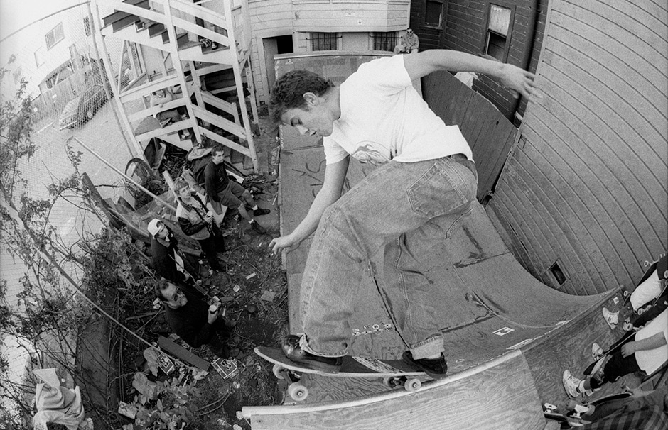 Brian Ferdinand Mayday from 1989. Photo: Tobin Yelland
