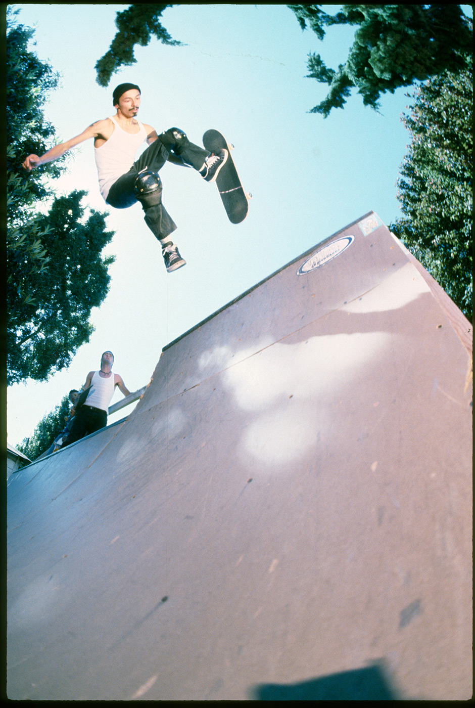 Tommy Guerrero continuing to inspire years later. Dogpiss Air in 1997. Photo: Tobin Yelland