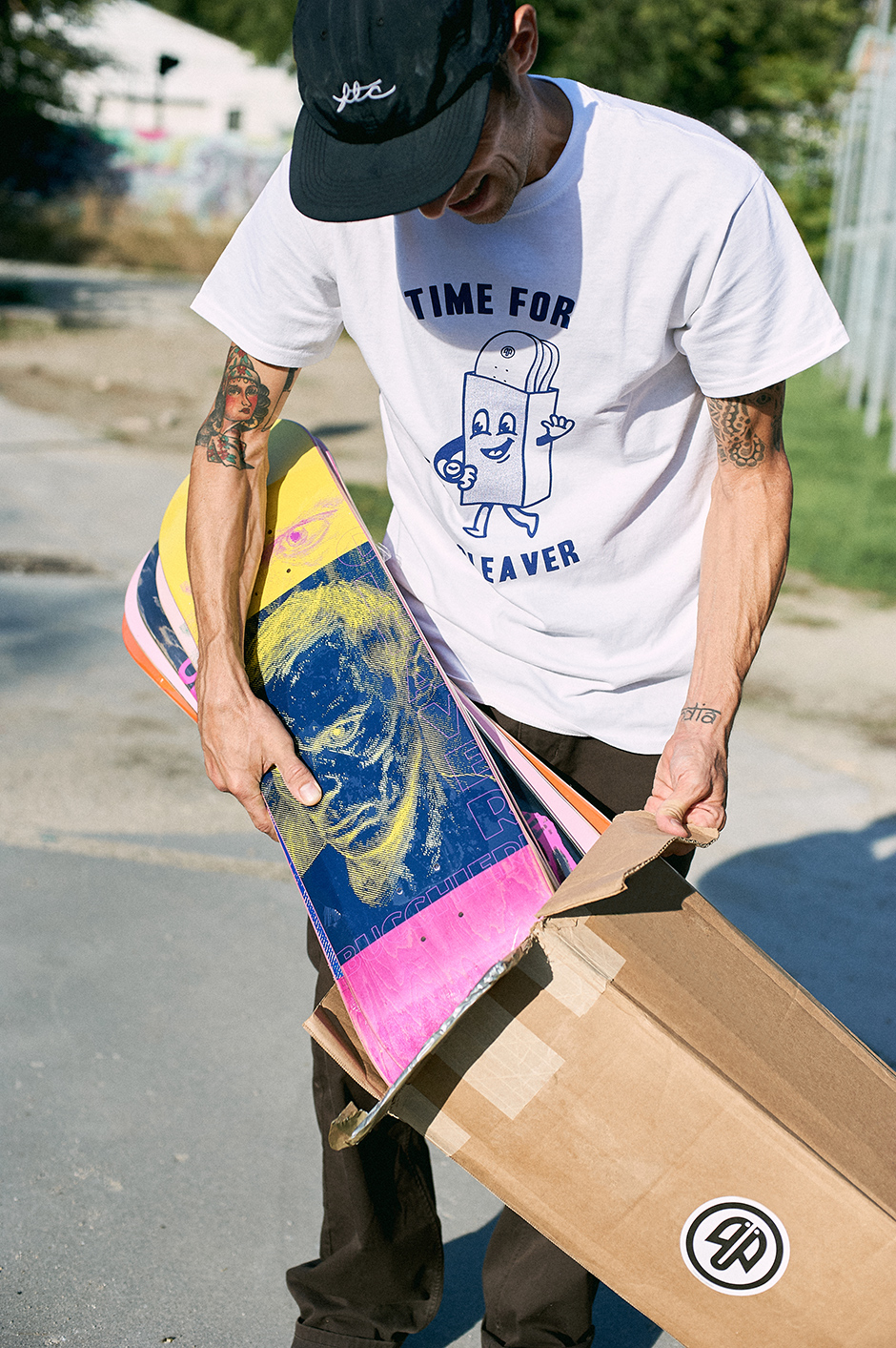 Time for shipping. Photo: Adrian Rios