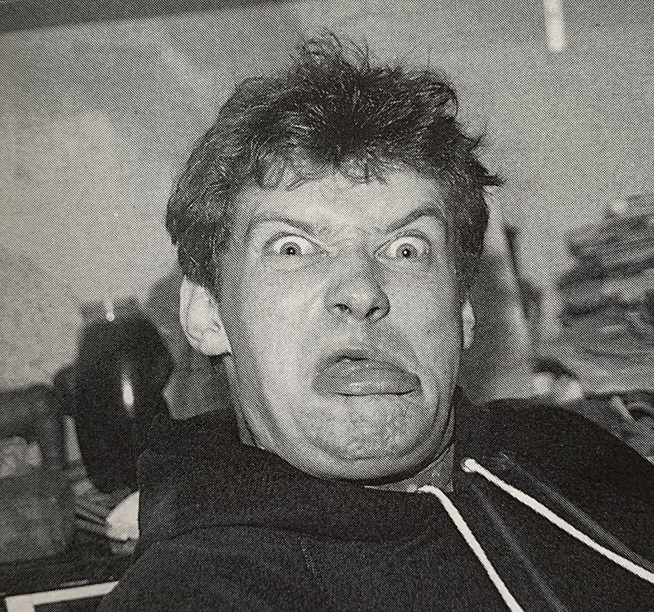 INTERVIEW BY NEIL MACDONALD (@SCIENCEVERSUSLIFE) / PORTRAIT of Skateboard! Editor Steve Kane in 1989