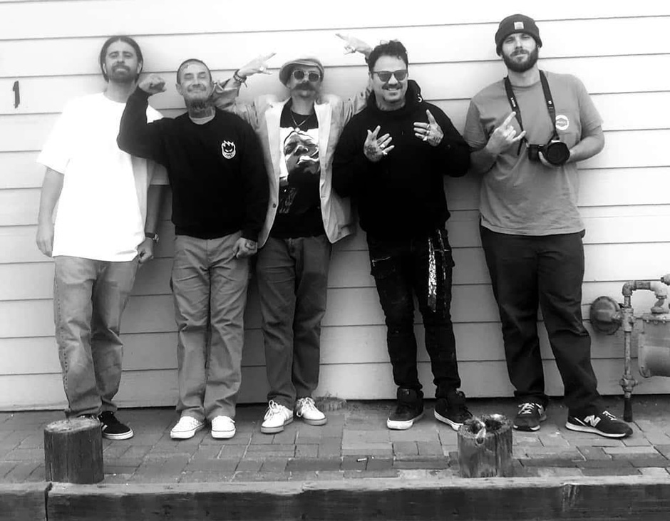 Josh Phillips, Andy Roy, Alex, Bam Margera and Ryan Hall