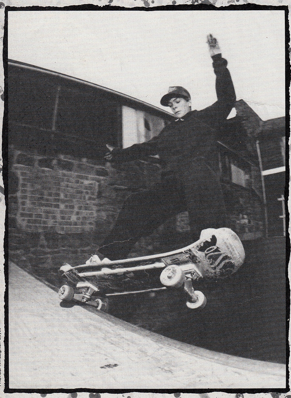 SS20 pride on the tail. Chink-Chink in Rad Magazine, February 1990. Photo: Tim Leighton-Boyce