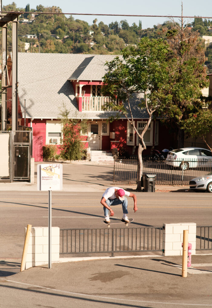 Justin Henry, nollie backside 180. photo: Andrew James Peters