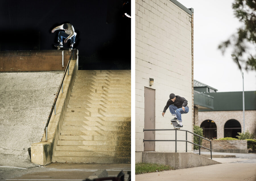 Justin Henry Interview | Nollie half cab and crooked transfer speed | photos by Andrew James Peters