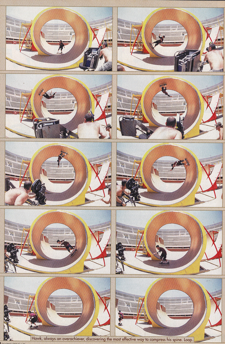Later Loop Action in the Bullring from The End. Photos: Atiba Jefferson