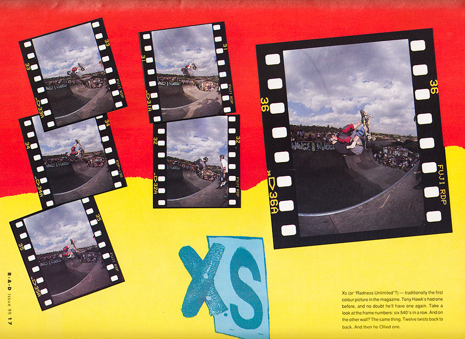 Release mastered. Tony span 12 McTwists back to back at Leigh On Sea in 1991. R.A.D Issue 99. Photos: TLB