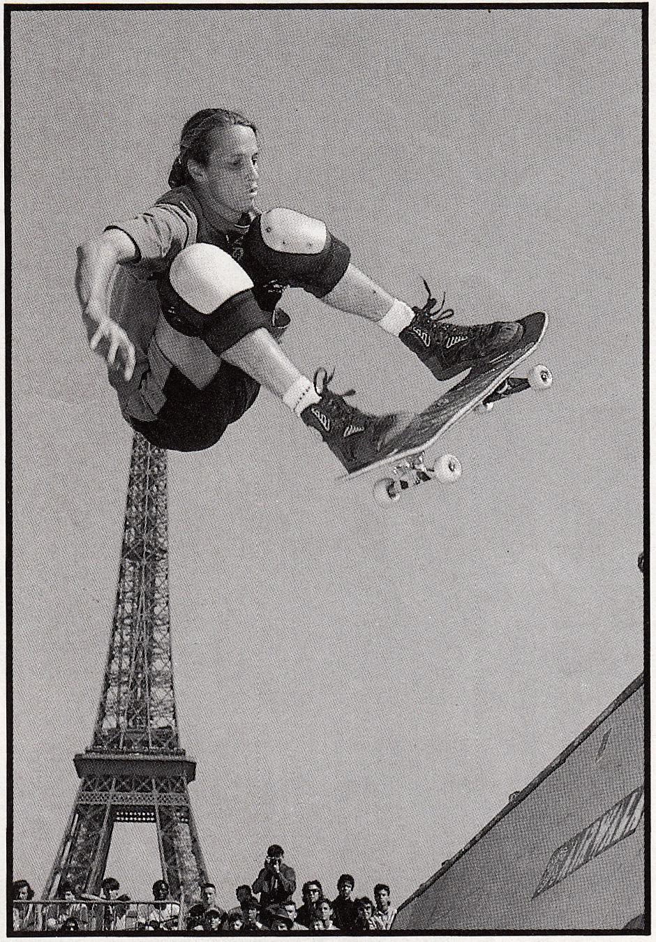 Further European exploration. Slam City Skates Founder and total legend Paul Sunman shot this photo of the Birdman in Paris